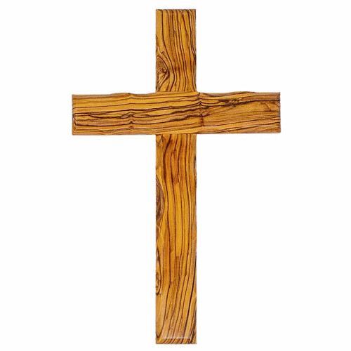 Olive Wood Cross (20 cm)