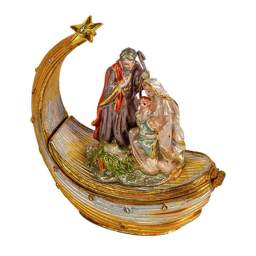 Nativity Trinket Box