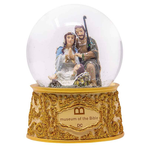 MOTB Nativity Snow Globe