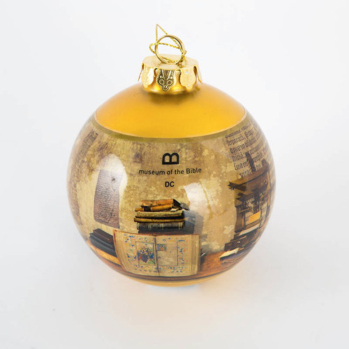 MOTB Artifact Line Ball Ornament