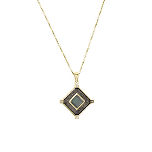 Luxury Crystal Bible Nano-Chip Pendant