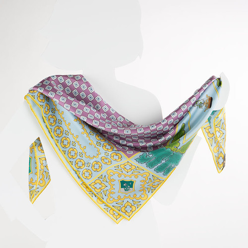 100% Silk Litany Prayer Scarf