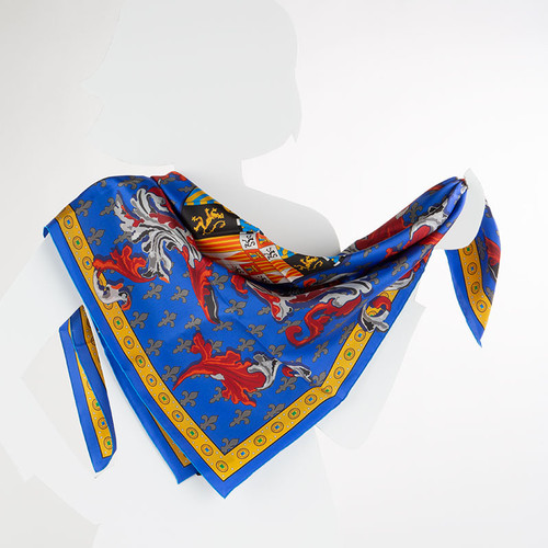 100% Silk Charles V Prayer Book Scarf