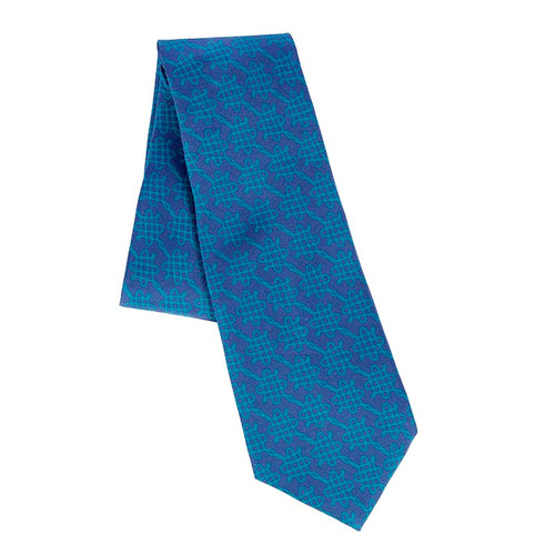 Blue Book of Hours Tie