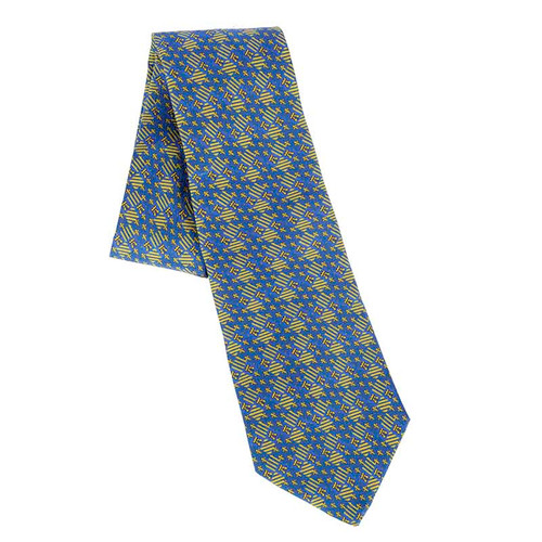Navy Charles V Prayer Book Tie