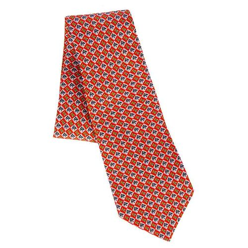Red Charles V Prayer Book Tie