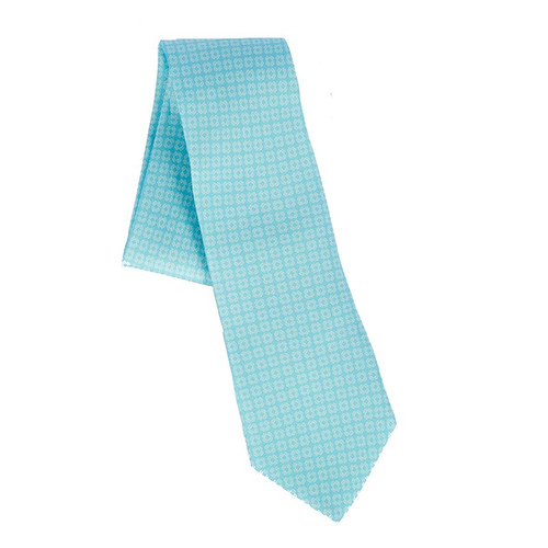 MOTB Light Blue Logo Tie