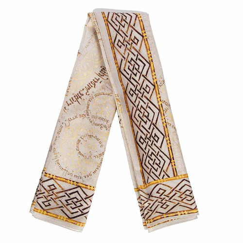 MOTB Psalter Calligraphy Scarf