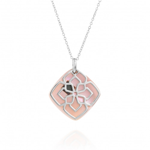 Mother of Pearl Bible Nano-Chip Necklace