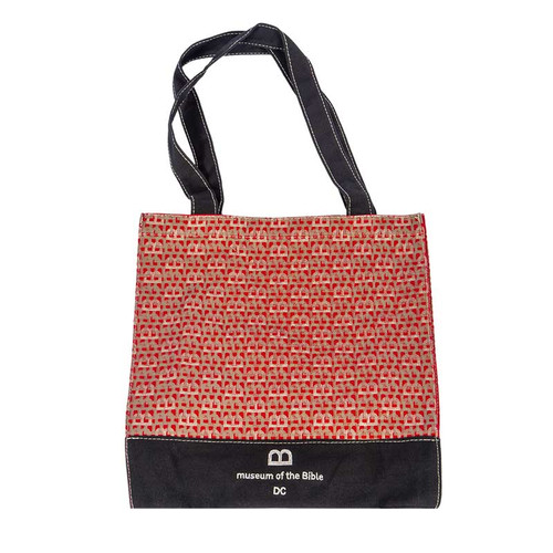 red toat, red tote