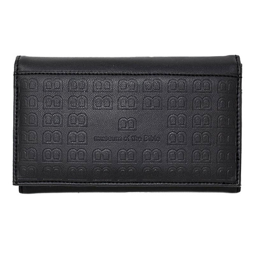 Fold Snap Black Wallet Organizer