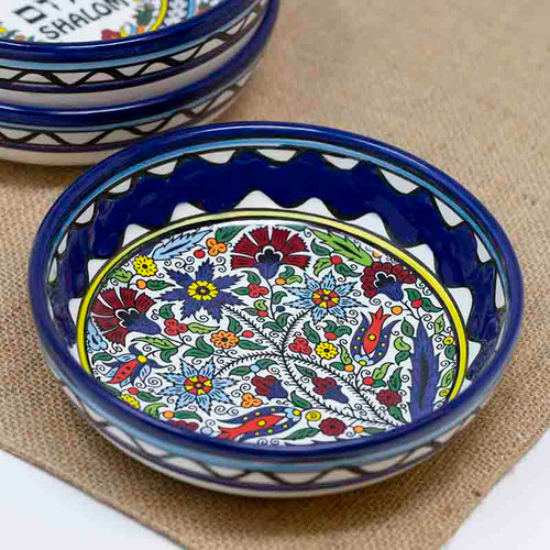 15cm Floral Bowl | Museum of the Bible