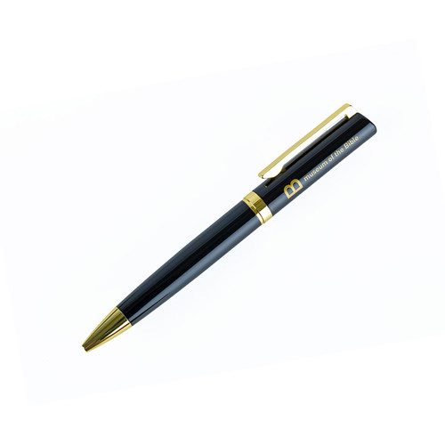 Black and Gold Twist Pen