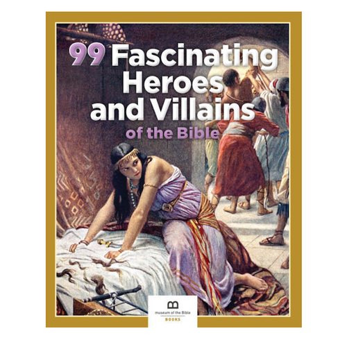 99 Fascinating Heroes and Villains of the Bible Book - Museum of the Bible