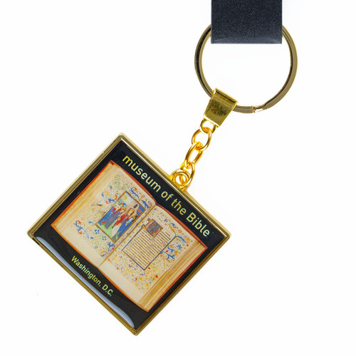 Illuminated Manuscript Key Ring