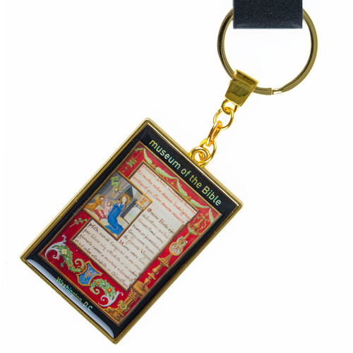 Charles V Prayer Book Key Ring