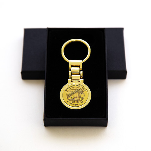 Grand Opening Gold Key Ring