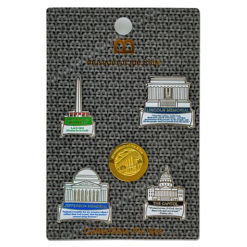 Monument Pin Set