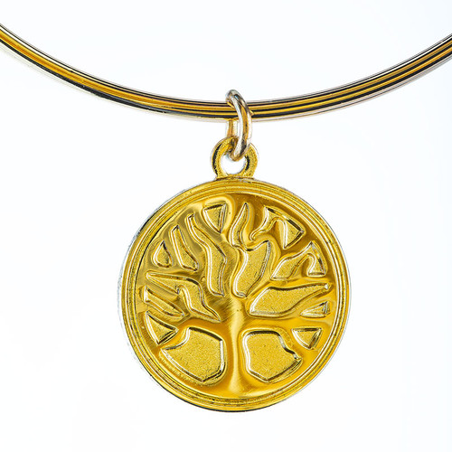 Gold Tree of Life Bracelet | Museum of the Bible