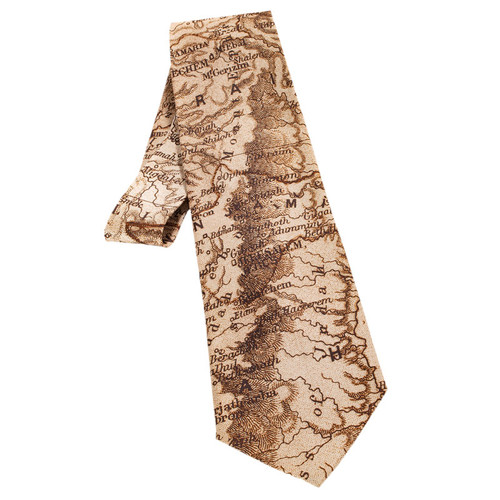 100% Silk Old Testament Map Tie | Museum of the Bible