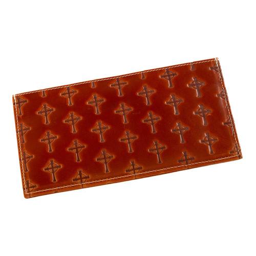 "Men's Long Coat Leather Wallet - ""The Litany"""