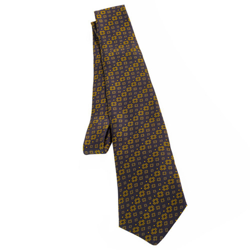 The Black and Gold MOTB Logo Tie | Museum of the Bible