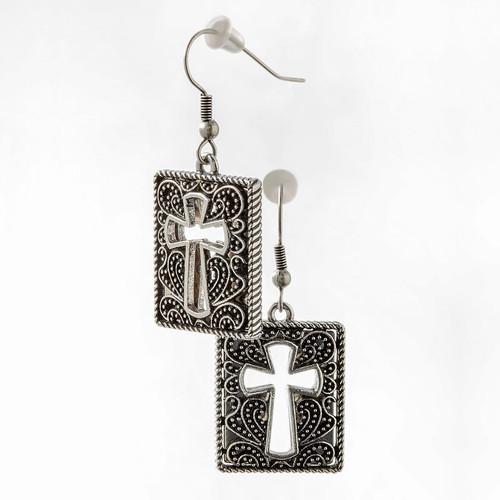 Glory Cross Earrings | Museum of the Bible