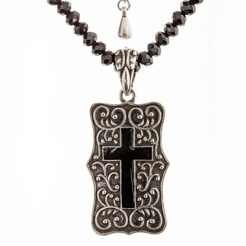 Be Still Cross Necklace | Museum of the Bible