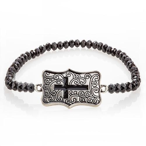 Be Still Cross Bracelet  | Museum of the Bible
