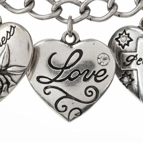 Fruitful Heart Bracelet