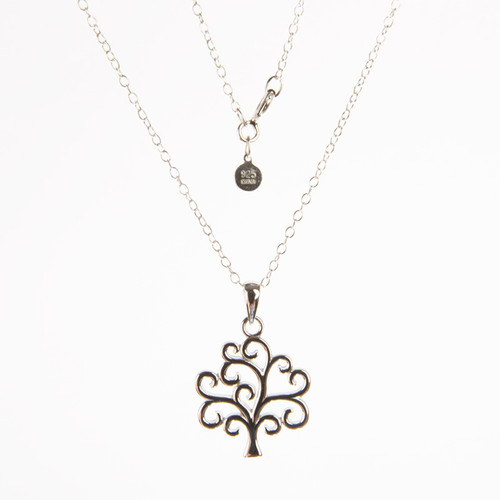 Tree of Life Sterling Necklace