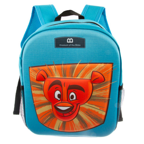 Courageous Pages 3D Embossed Backpack | Museum of the Bible