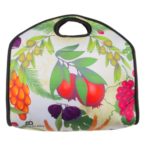 Seven Species Neoprene Lunch Bag