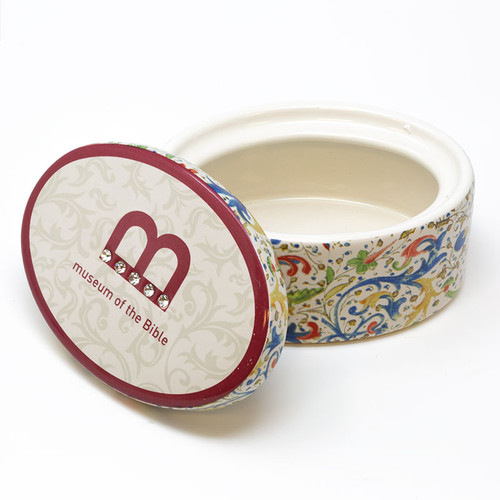 Monogram Line Trinket Box  | Museum of the Bible