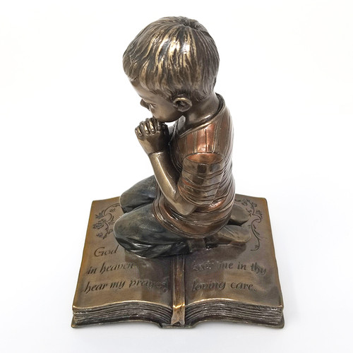 Kneeling Boy Figurine
