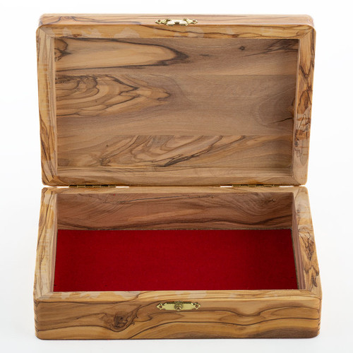 Medium Olive Wood Box | Museum of the Bible