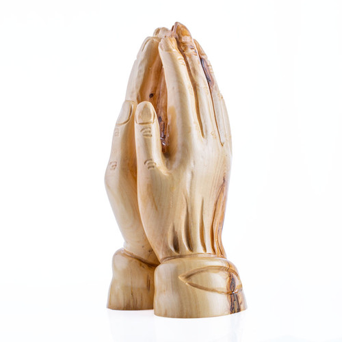 Olive Wood Praying Hands | Museum of the Bible