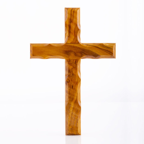 Olive Wood Holding Cross   Museum of the Bible