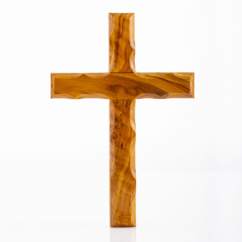 Olive Wood Holding Cross | Museum of the Bible