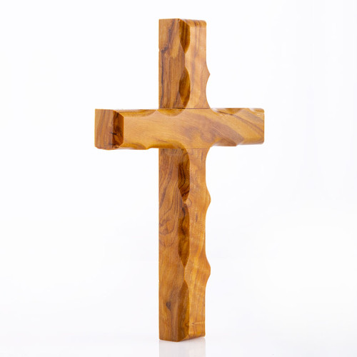 16 cm Olive Wood Cross | Museum of the Bible