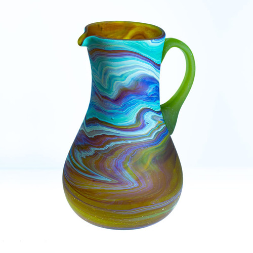 Large Hebron Glass Pitcher  | Museum of the Bible