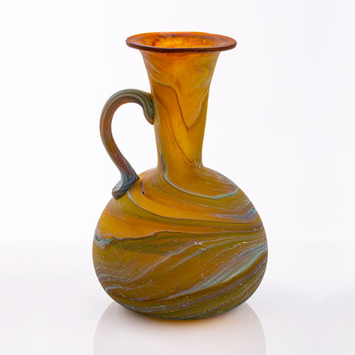 Small Hebron Glass Pitcher | Museum of the Bible
