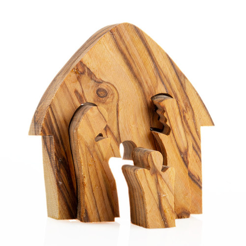 Olive Wood Nativity Puzzle | Museum of the Bible