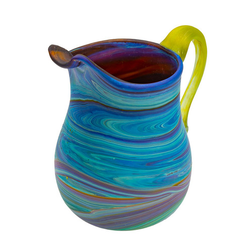 Hebron Glass Creamer Jar