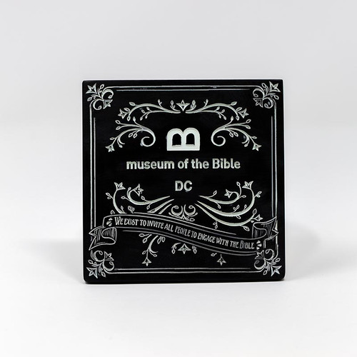 Chalkboard Line Coaster | Museum of the Bible