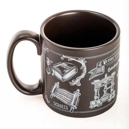 Chalkboard Line Coffee Mug | Museum of the Bible