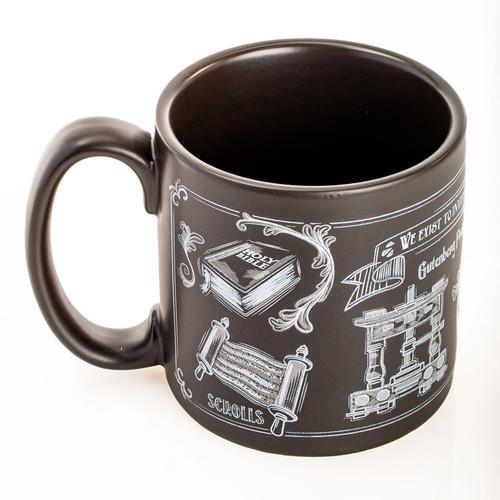 Chalkboard Line Coffee Mug | Museum of the Bible