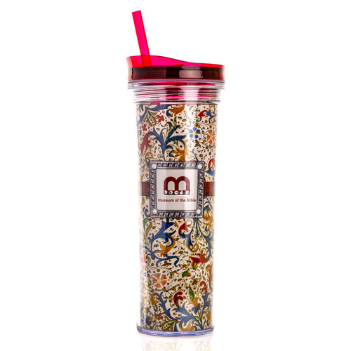 Exclusive Floral Design Slim Tumbler | Museum of the Bible