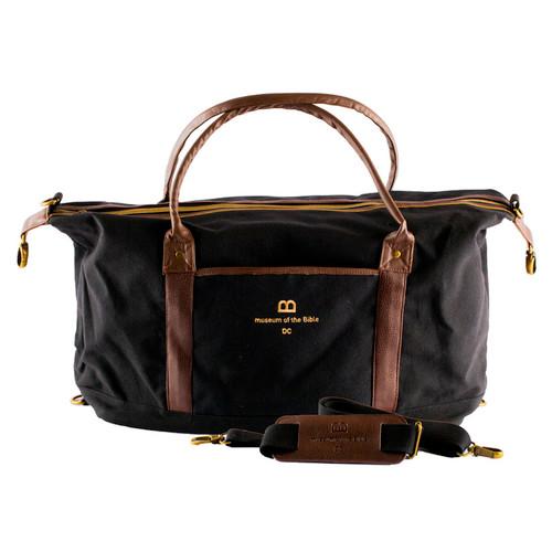 Black Duffle Bag | Museum of the Bible