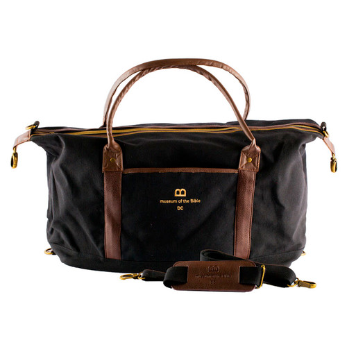 Black Duffle Bag | Museum of the Bible